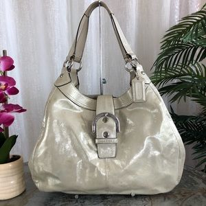 Coach Soho Lynn Hobo leather shoulder bag F17092